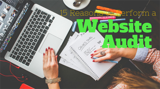 reasons to perform website audit